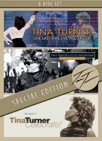 Cover Tina Turner - One Last Time Live In Concert / Live in Amsterdam - Wildest Dreams Tour / Celebrate! The Best Of [DVD]